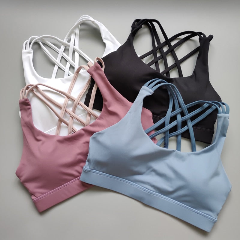 High Impact Yoga Bra - ChicShines