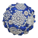 Crystal Brooch Wedding Bouquets - ChicShines