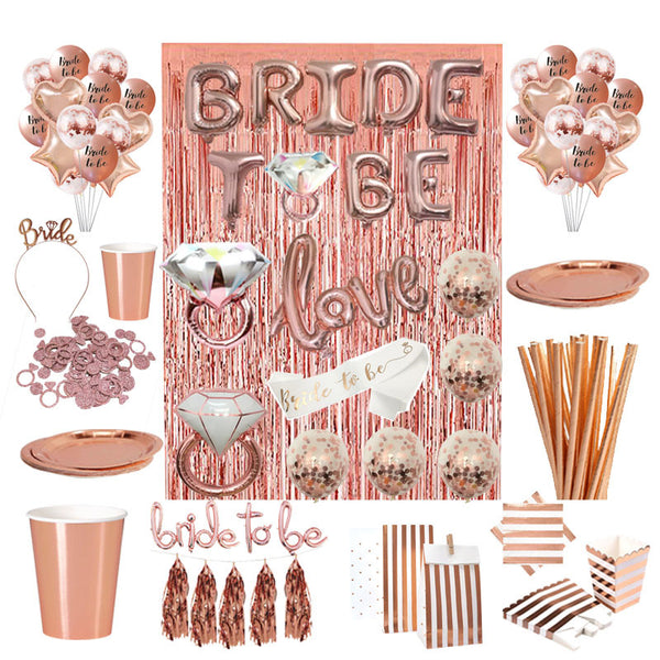 Rose Gold - Bachelorette / Bridal Shower Accessories - ChicShines