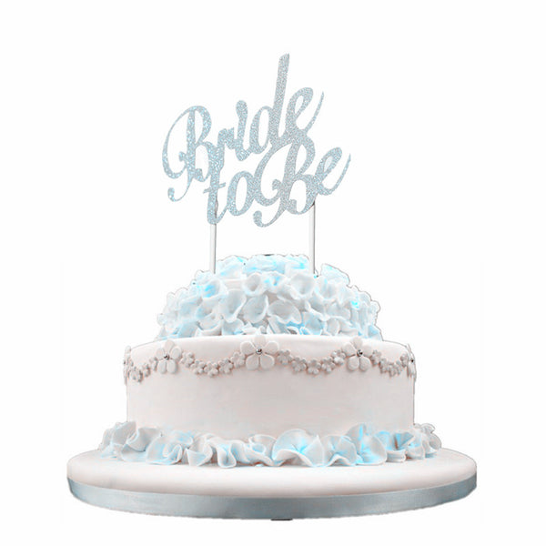 Bride To Be - Cake Topper - ChicShines