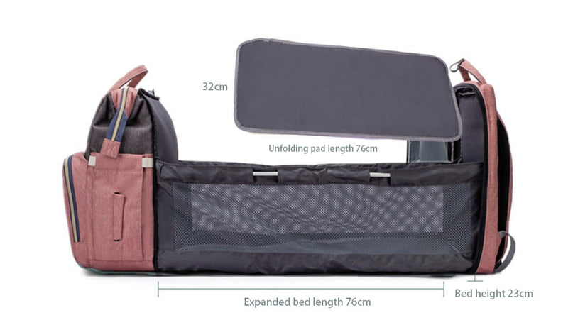 Multifunctional Baby Bed Bags - Portable folding crib