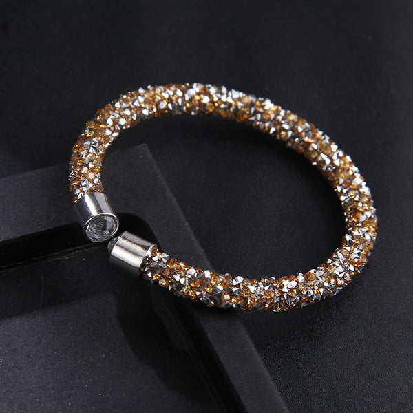 Exquisite Crystal Cuff Bracelet - ChicShines