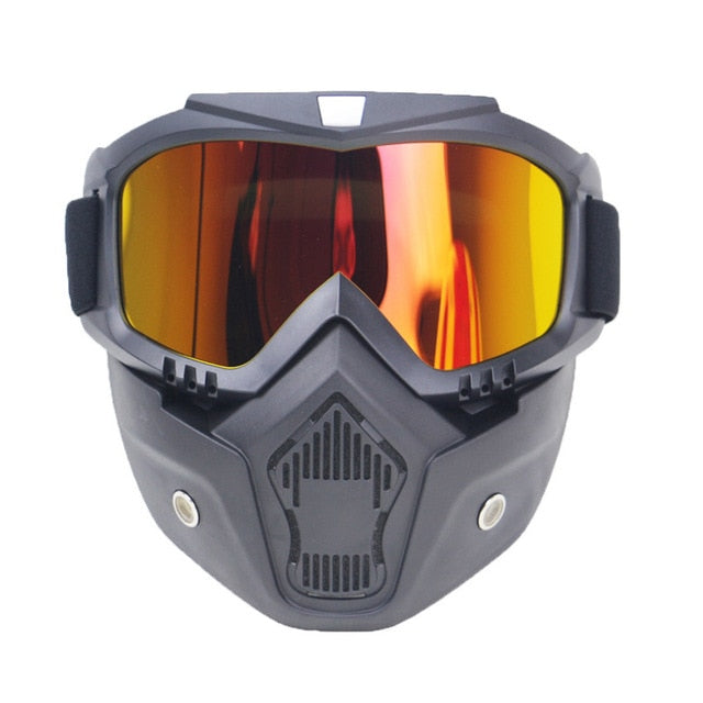 Snowboard Mask and Goggles - ChicShines