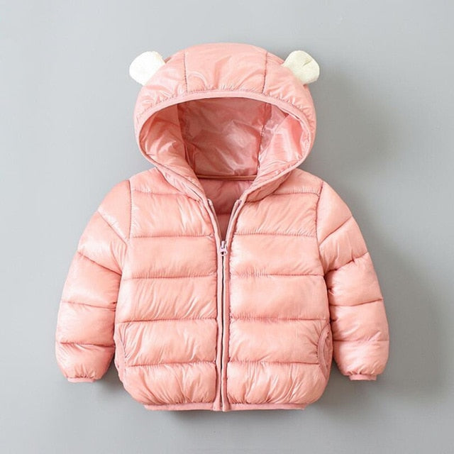 Puff Pink Jacket - ChicShines