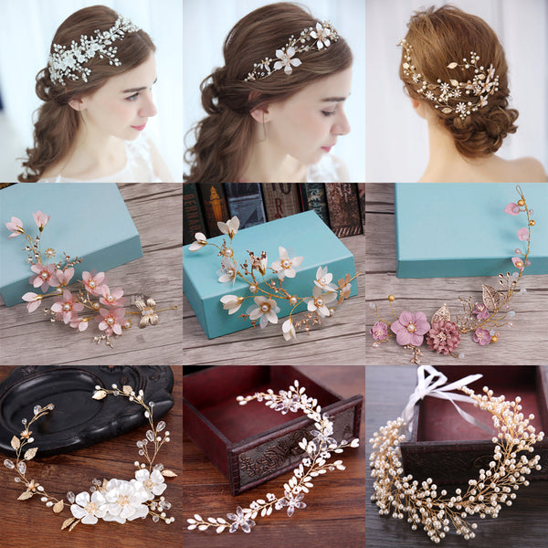 Rhinestone Crystal Headbands - Wedding Hair Accessories - ChicShines