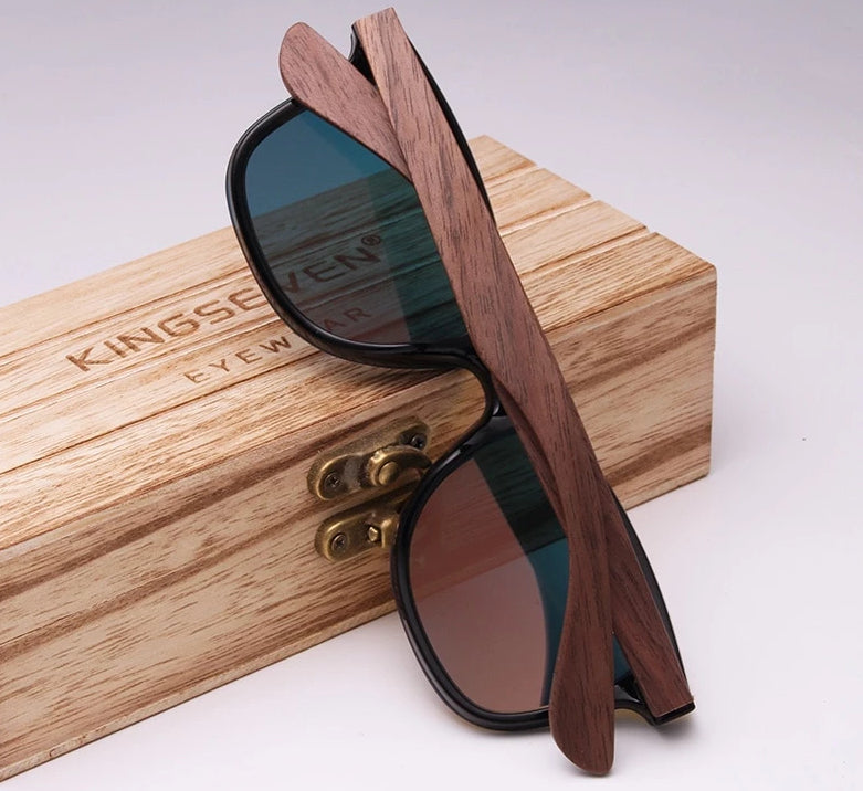 Walnut Sunglasses - ChicShines