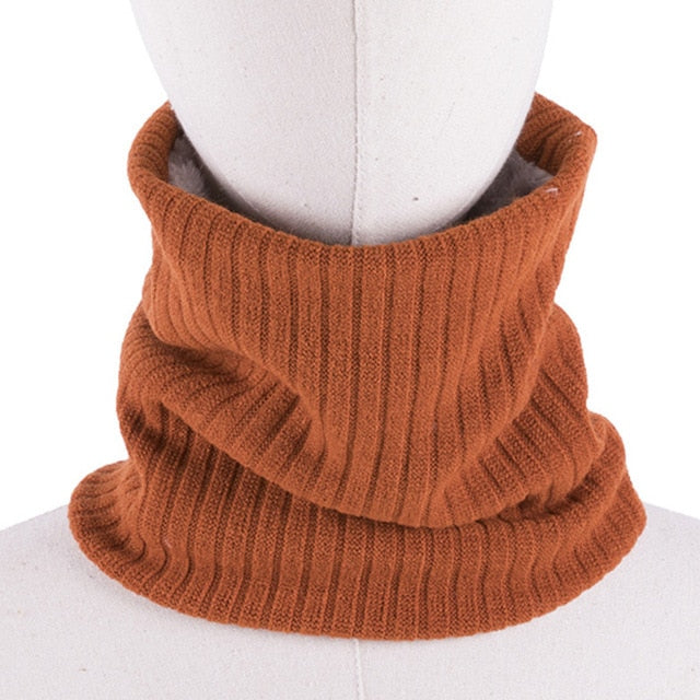 Warm Knitted Ring Scarves - Men - ChicShines