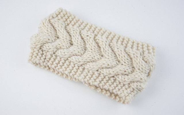 Knitted Twist Ear Warmer - ChicShines