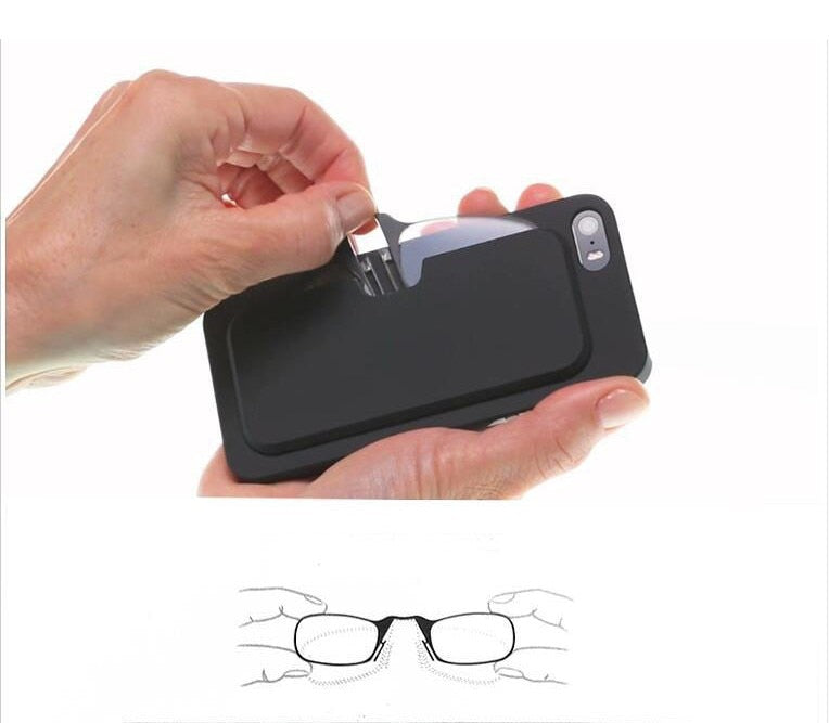 Mini Glasses for Phone Case - ChicShines