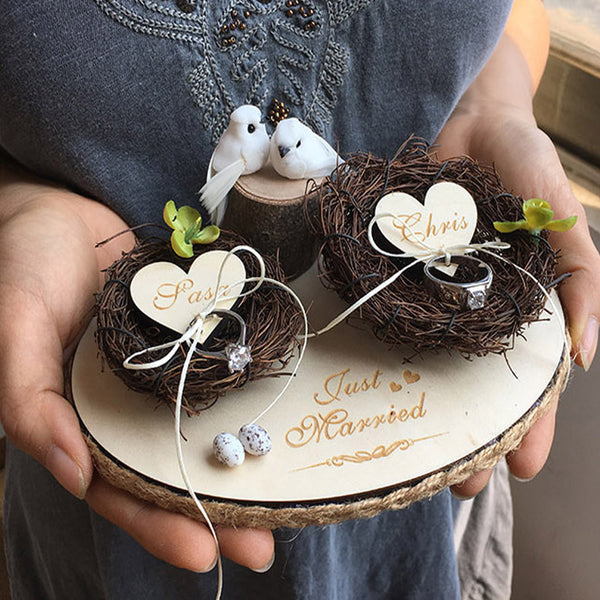 Personalized Ring Nests - ChicShines