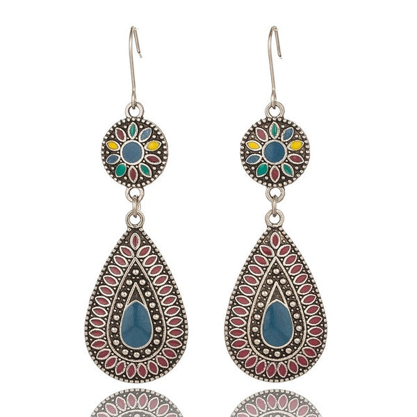 Ethnic Dangle Earrings - ChicShines