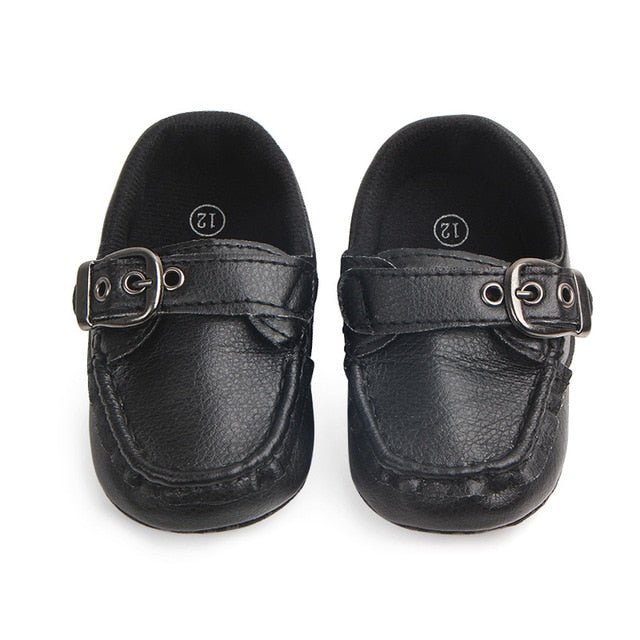 Leather Moccasin infant shoes - ChicShines