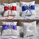 European Wedding Decor Ring Pillow -Handmade - ChicShines