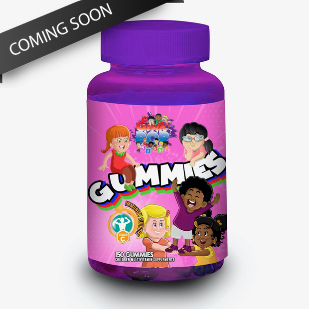 Exotic Pop Kids Vitamin Gummies (girl)