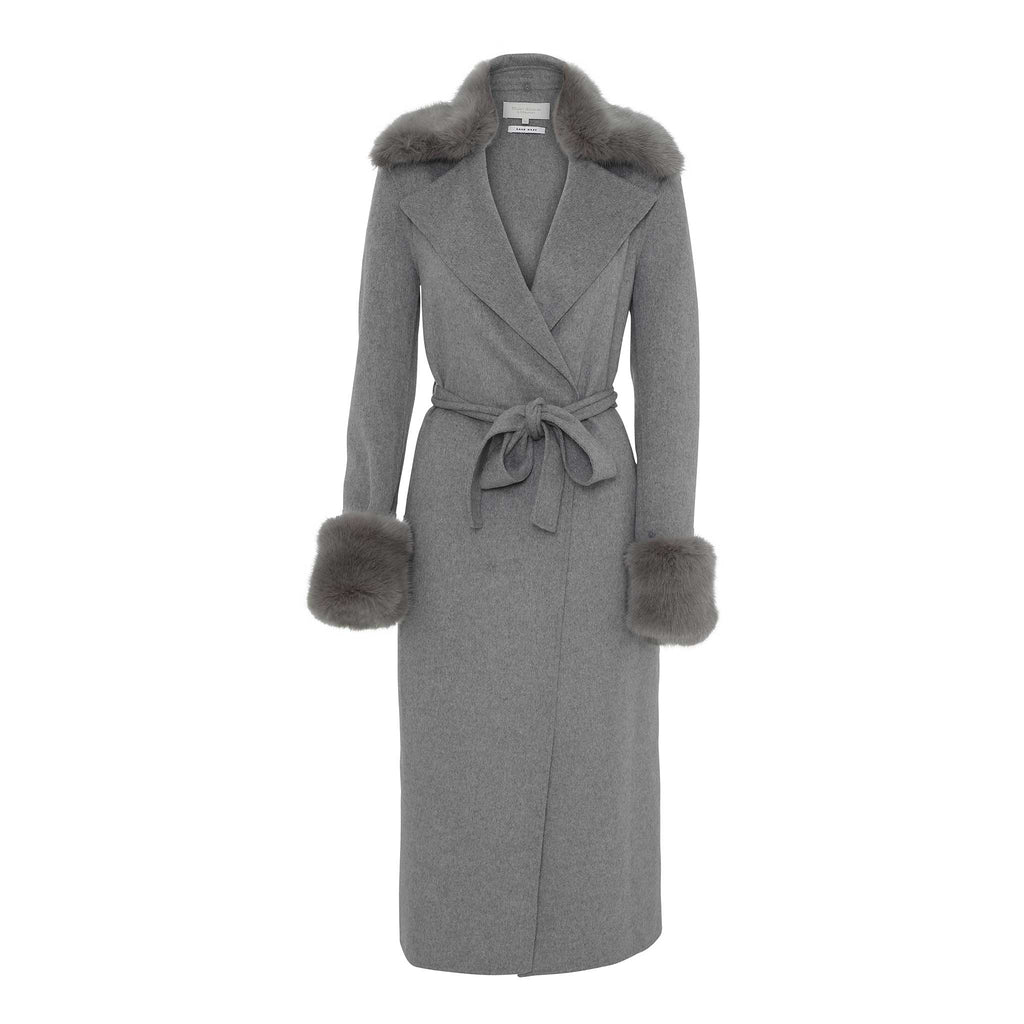 Goddess Coat - Grey