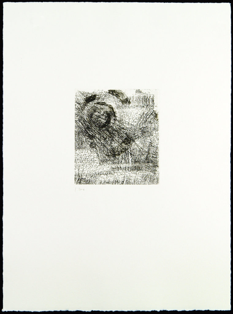 "Art in the GDR/Post-Wendezeit. ""Verdrehung"", 1991. Etching and aquatint by Carlfriedrich CLAUS buy"