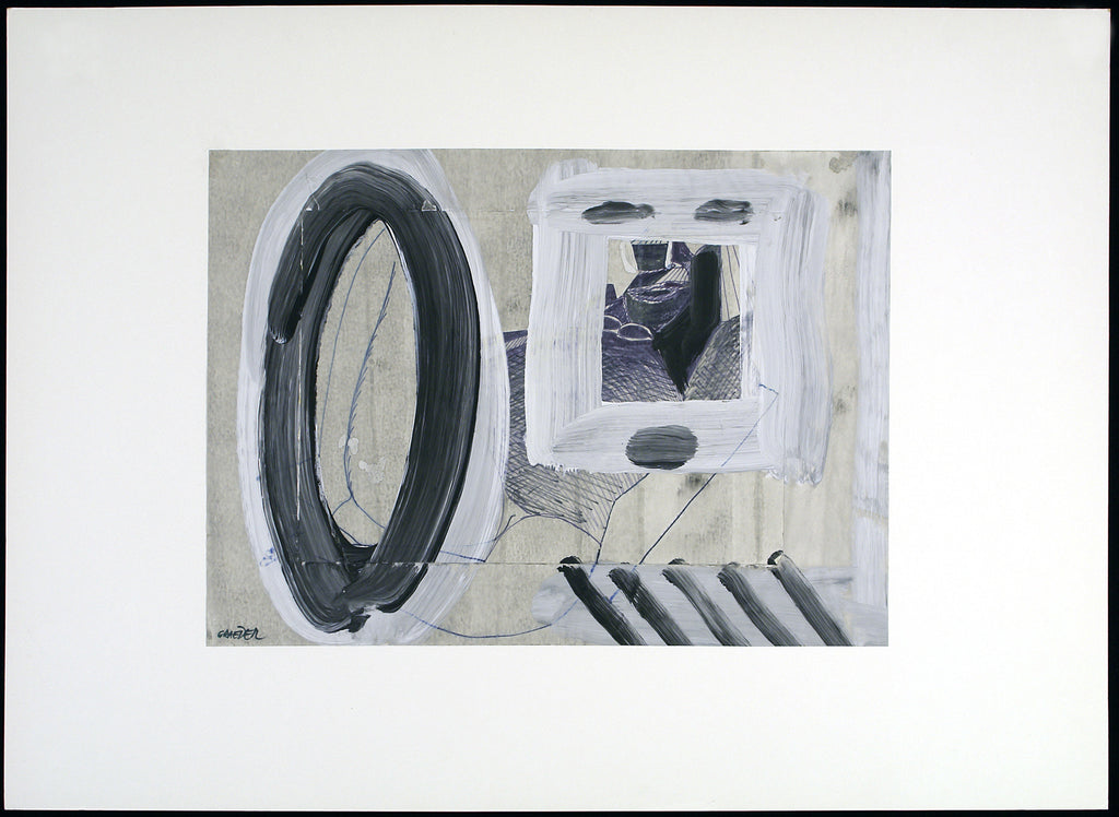 Untitled, around 1970. Mixed media by Hans GRÄDER