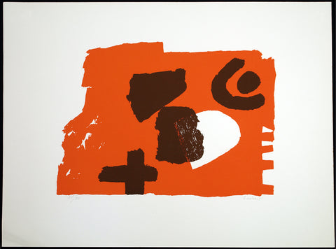 Untitled, 1971. Lithograph by Hans LAABS