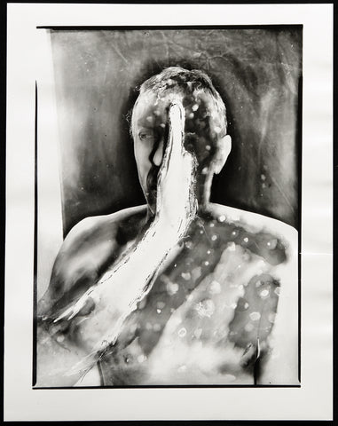 Experimental Photography. Untitled (Self-Portrait), 2002. Photograph by Klaus ELLE