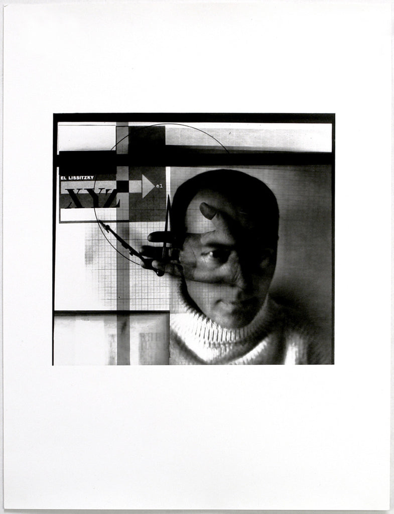 "Russian avant-garde. ""The constructor"", 1924/1985. Photograph by El LISSITZKY"