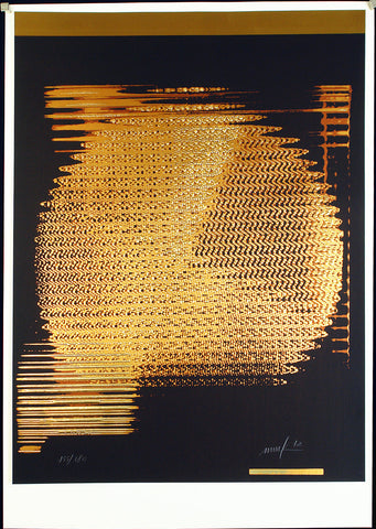 "ZERO. ""Rotor"", 1972. Serigraph and embossing print by Heinz MACK"