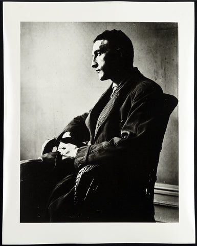 """Marcel Duchamp"", 1916/1991 Photograph by MAN RAY"