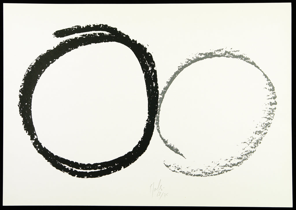 Informel. Untitled, 1985. Silkscreen by Jean MAUBOULES