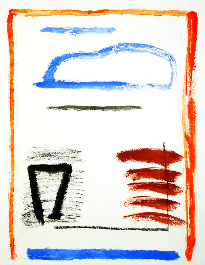 Untitled, around 1980. Lithograph by Albert RAFOLS CASAMADA