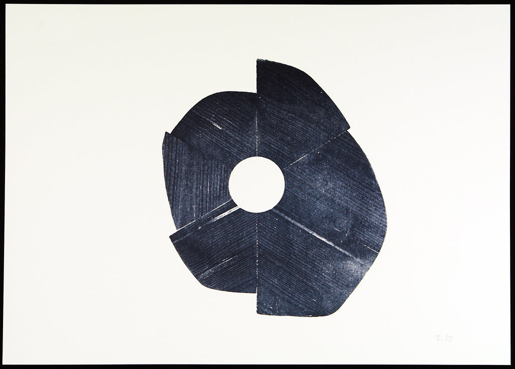 Minimal Art. Untitled, 2003. Woodcut by James REINEKING