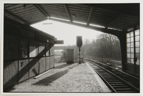"Photography in the GDR. ""Berlin, S-Bahnhof Westkreuz"", 1988. Photograph by Robert PARIS"