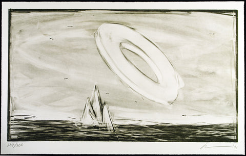 """Parsifal, Akt I"", 1991. Lithograph by Robert WILSON"