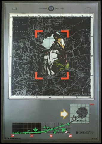 "Art from the GDR. ""Iphigenie '79"", 1981. Multiple by Jürgen SCHIEFERDECKER"