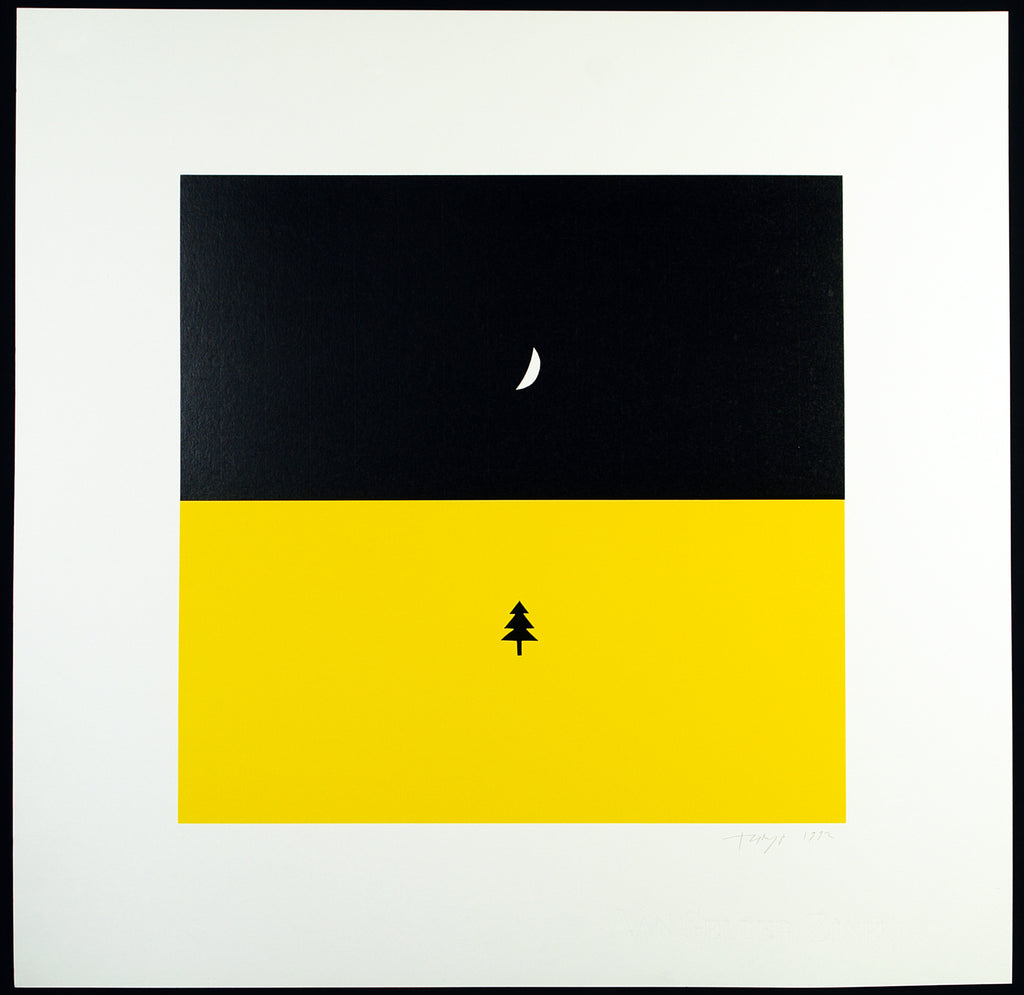"""Winternacht"", 1992. Serigraph by Timur NOVIKOV buy"