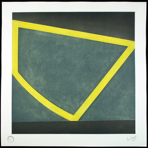 "Minimal Art. ""Form and Rhythm #2"", 2015. Aquatint by David TREMLETT"