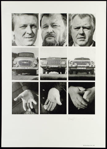 "Photography from the GDR. ""Fahrer"", 1985. Multiple by Ralf-Rainer WASSE"