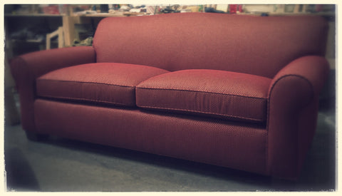 Red Loveseat