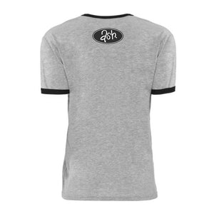 Retro Ash 1977 T-Shirt - Grey/Black