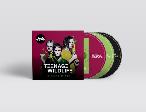 Teenage Wildlife (Limited Edition Lenticular 3xCD)