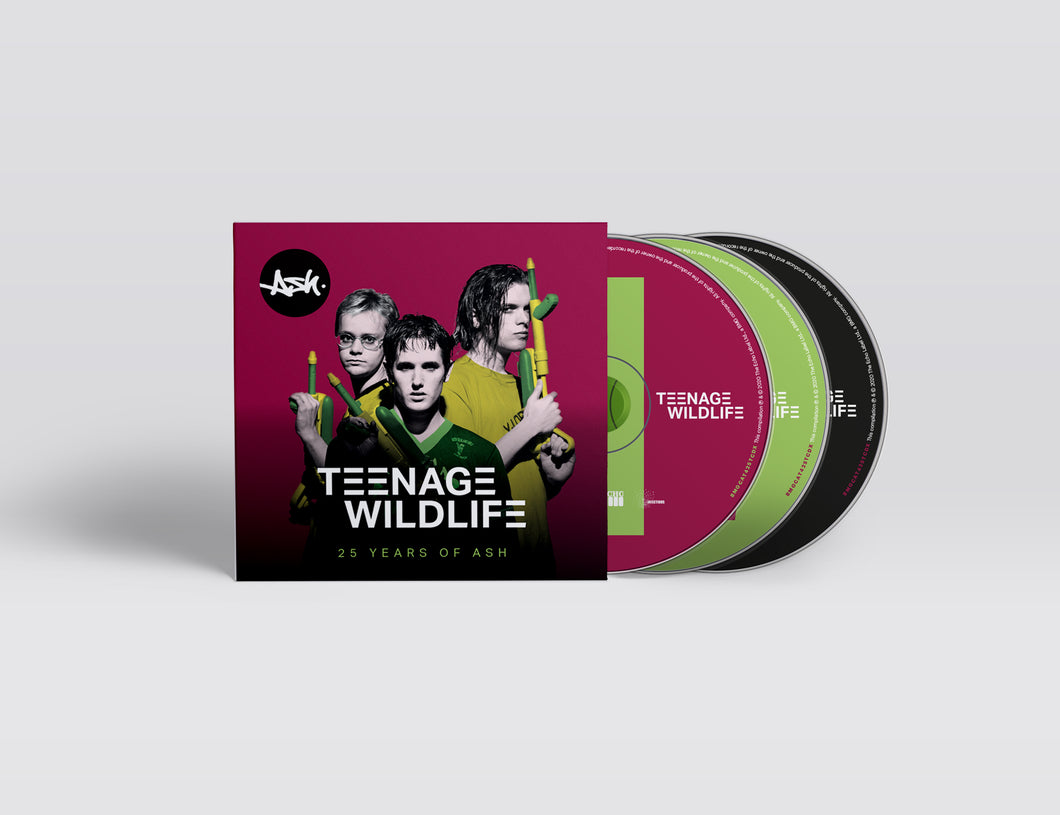 Teenage Wildlife (Signed Lenticular 3xCD)