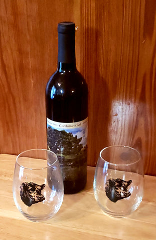 Wine Glasses Stemless (set of 2)
