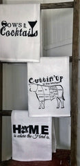 Tea/Kitchen Towels -Flour Sack Style 3 designs
