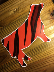 Decal 18b/Vinyl - Tiger Stripe Heifer