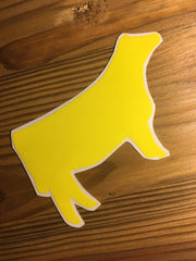 Decal 29b/Vinyl - Yellow Heifer