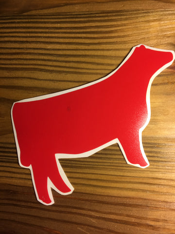Decal/Vinyl - Red Heifer