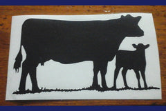 Decal/Vinyl- 101a- XXXL COW/CALF