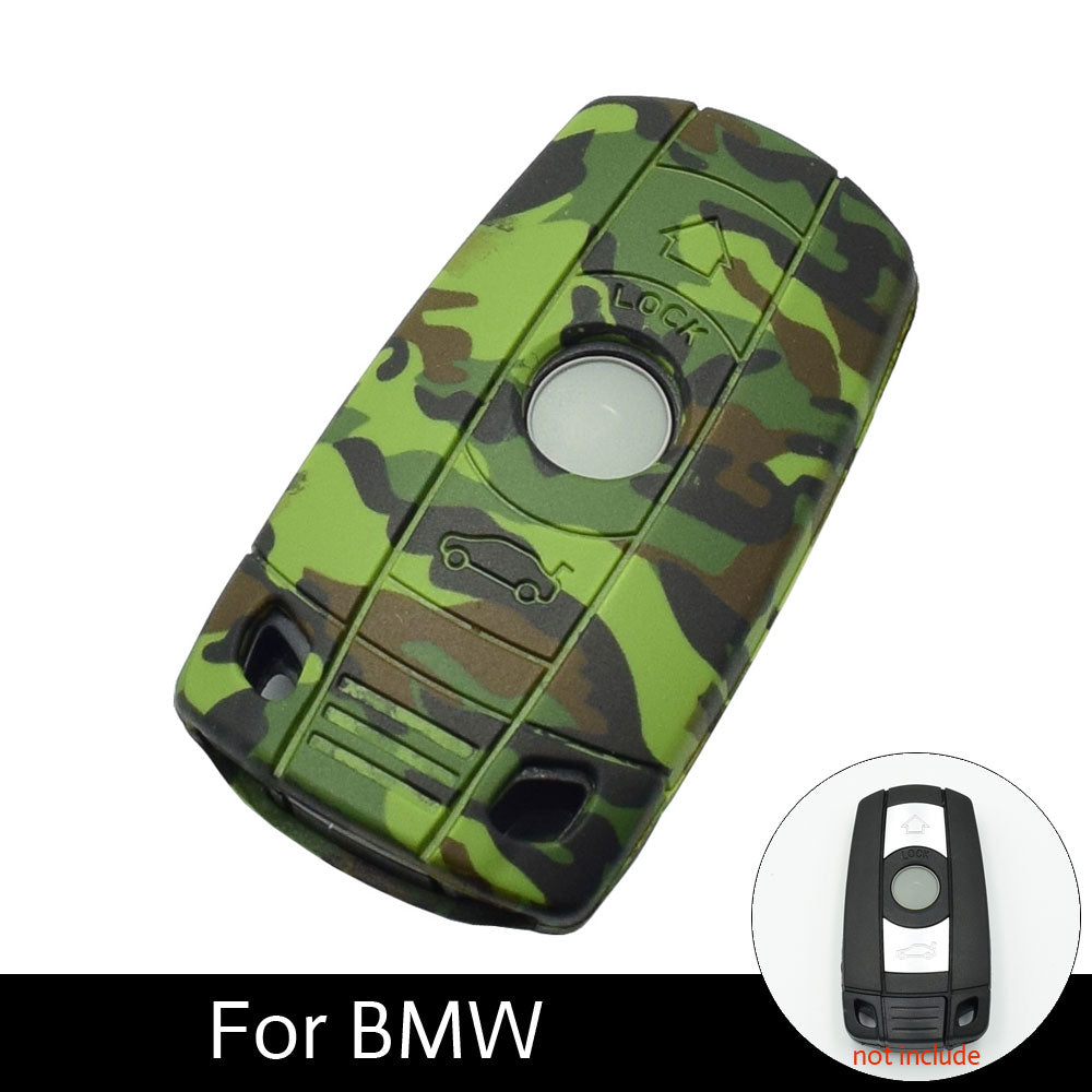Silicone Key Case For BMW E90 E60 E70 E87 3 5 6 Series M3 M5 X1 X5 X6 Z4