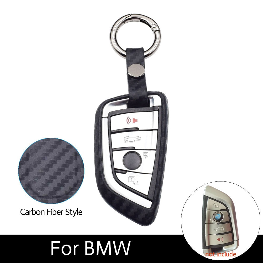 Carbon Key Case For BMW X3 X4 X5 X6 X1 1 2 Series
