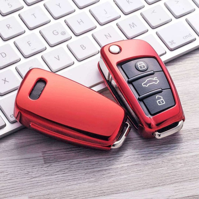 2019 New TPU Key Cover Case For Audi A1 A3 A4 A5 A6 A7 C5 C6 Q7 R8