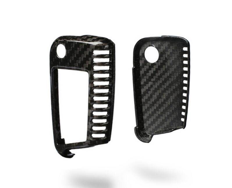 Carbon Fiber Key Cover For VW GOLF 7 MK7 GTI 2013-2017