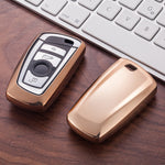 Soft TPU Car Key Case Cover For BMW 520 525 F10 F30 F18 118i 320i 1 3 5 7 Series X3 X4 M3 M5